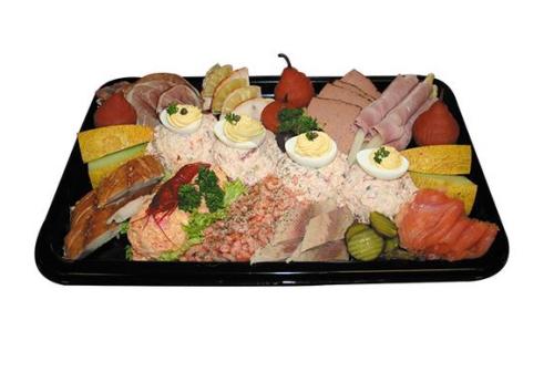 vlees-vis-schotel