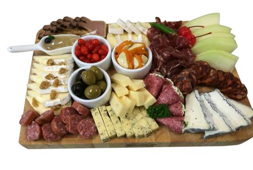 vlees-kaasplank